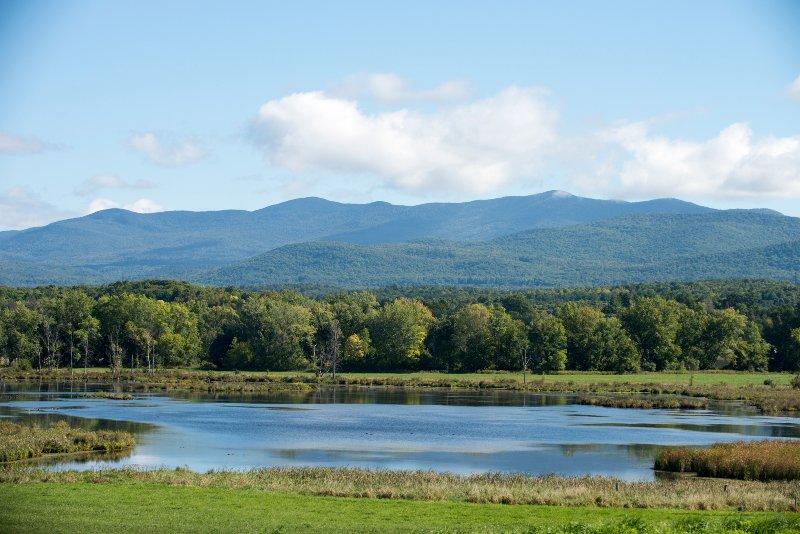 El estanque al norte del Nido de golondrina