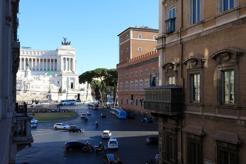 The amazing Vittoriano close to our suite
