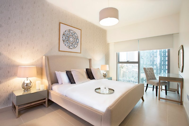 10-40, Contemporary 1 Bed Apartment , DIFC, aluguéis de temporada em Dubai