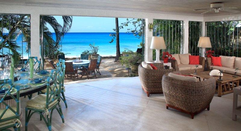 Seascape, Gibbs, St. Peter, Barbados - Beachfront – semesterbostad i Gibbes