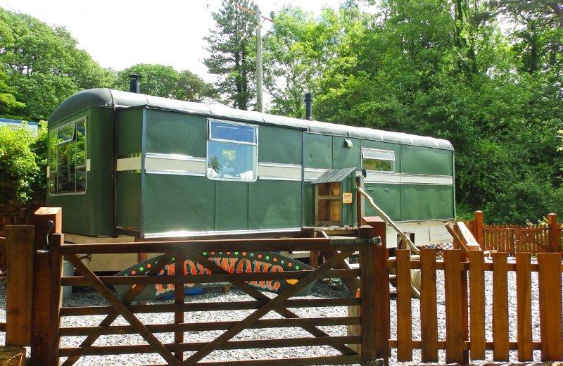 Showman's Wagon, holiday rental in Llanelltyd