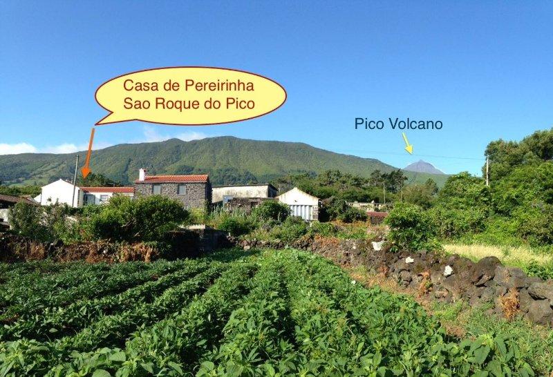 Casa de Pereirinha, vacation rental in Sao Roque do Pico