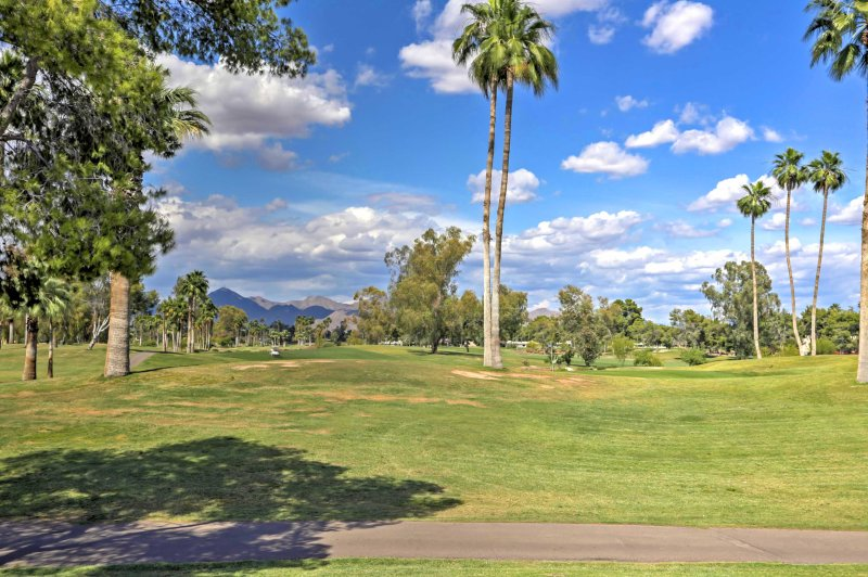 The home is located at the McCormick Ranch Golf Club.