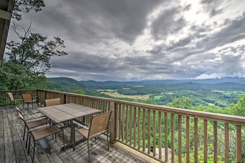 Escape to 'Point of View,' a 5-bedroom, 3-bath vacation rental house in Brevard.