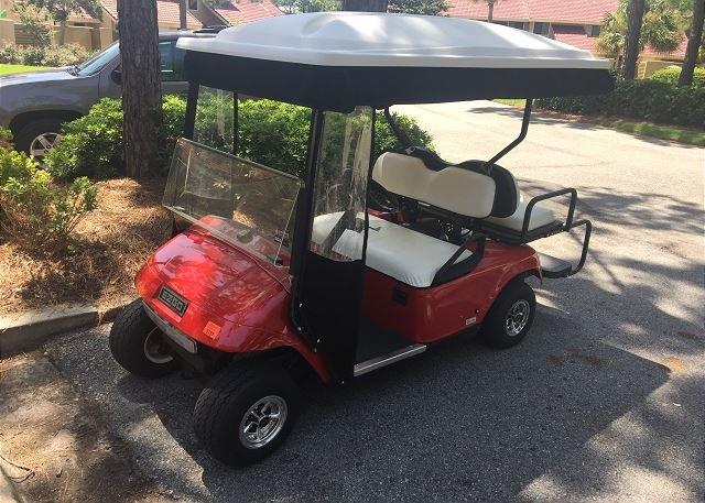4 person Golf Cart