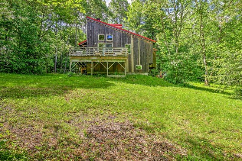 Situado en el valle de la cereza, disfrutará de relajarse en el entorno rural del Valle del Mohawk.
