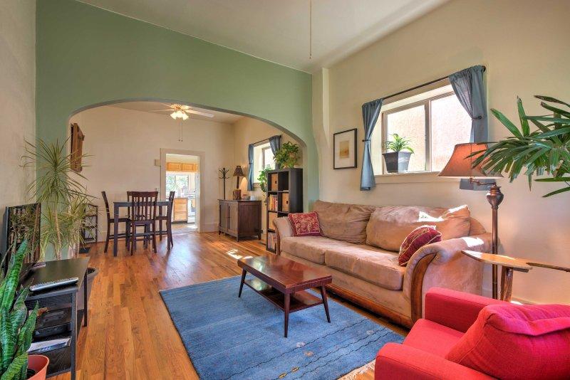 Você vai se sentir em casa neste histórico Alojamentos Turísticos Casa de Salida!