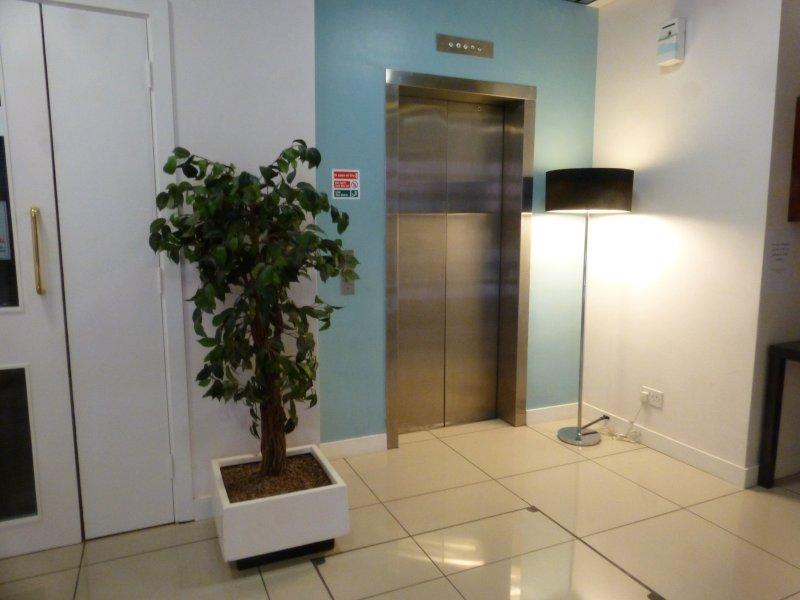 Ingresso con ascensore al secondo piano per il nostro appartamento.
