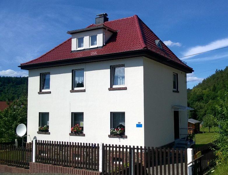 Ferienwohnung Schlossblick Ziegenrück, location de vacances à Stadtroda