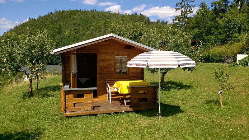 Gartenhaus zum entspannen