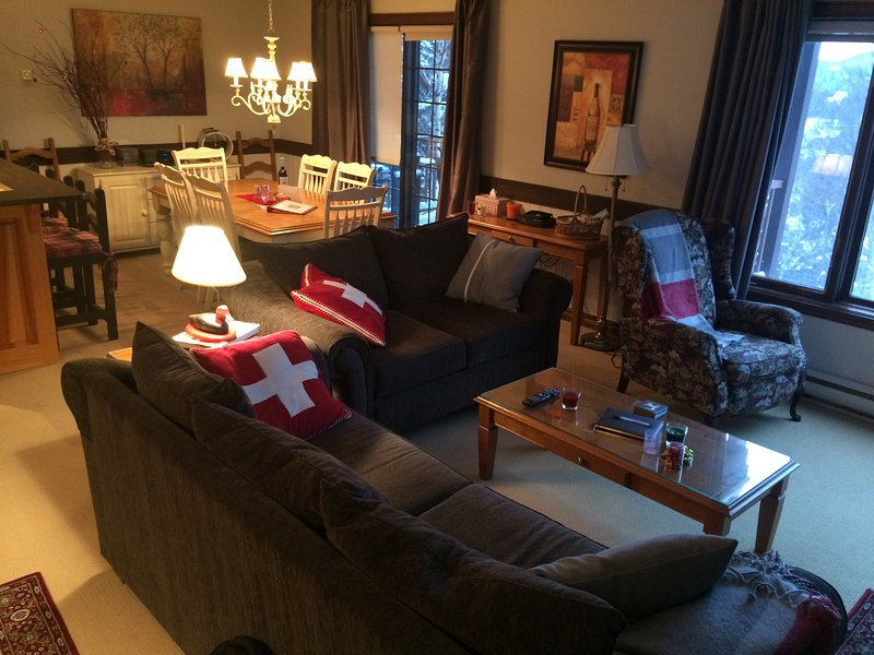 CITQ-300852 Mont Tremblant Ski in/Ski out All the comfort you need, holiday rental in Huberdeau
