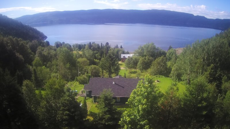 Splendid Panorama Fjord Saguenay! Mountain retreat, holiday rental in La Baie