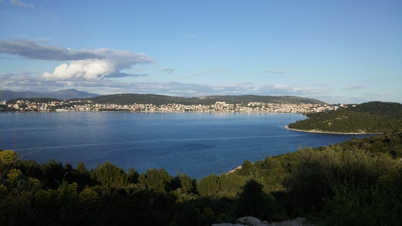 The island's natural beauty provides scenic hiking and cycling opportunities