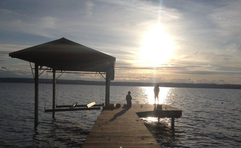 Beautiful Seneca Lake sunsets