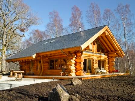 Every dreamed of staying in a real log cabin?...