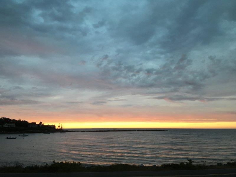Sunrise, september 2016.