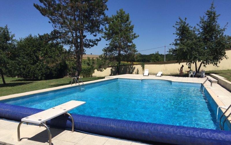 The huge pool