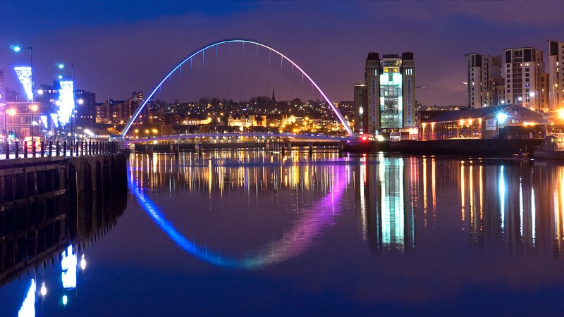 Visit Newcastle Quayside, pubs, clubs, wine bars, restaurants, Farmers/Craft Market at the weekend.