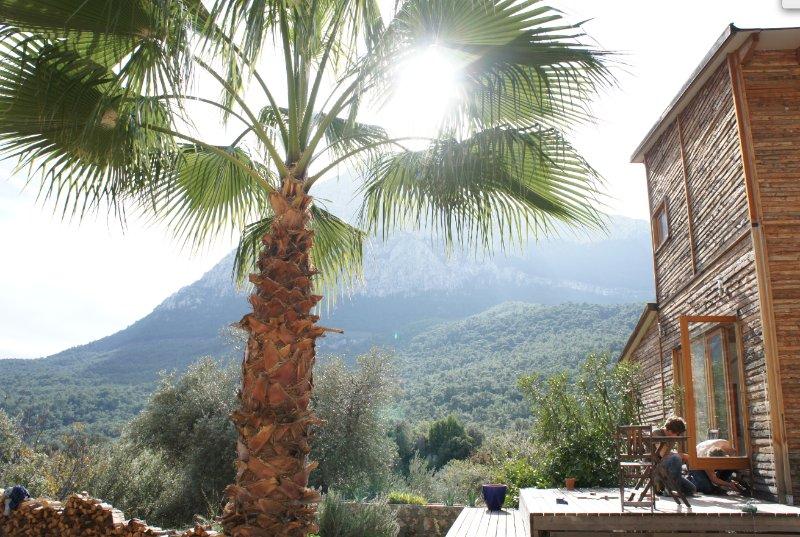 Traumhaftes Holzhaus in den Bergen von Antalya, holiday rental in Antalya