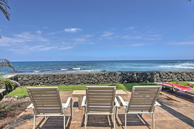 Soak in the views while soaking up the sun's rays!