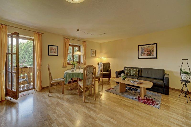 5 Sterne Wohnung Falkenstein am Nationalpark mit Südbalkon, vakantiewoning in Kvilda