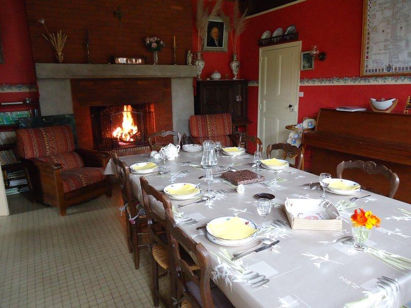 La Vionnière - Taceau, holiday rental in Change