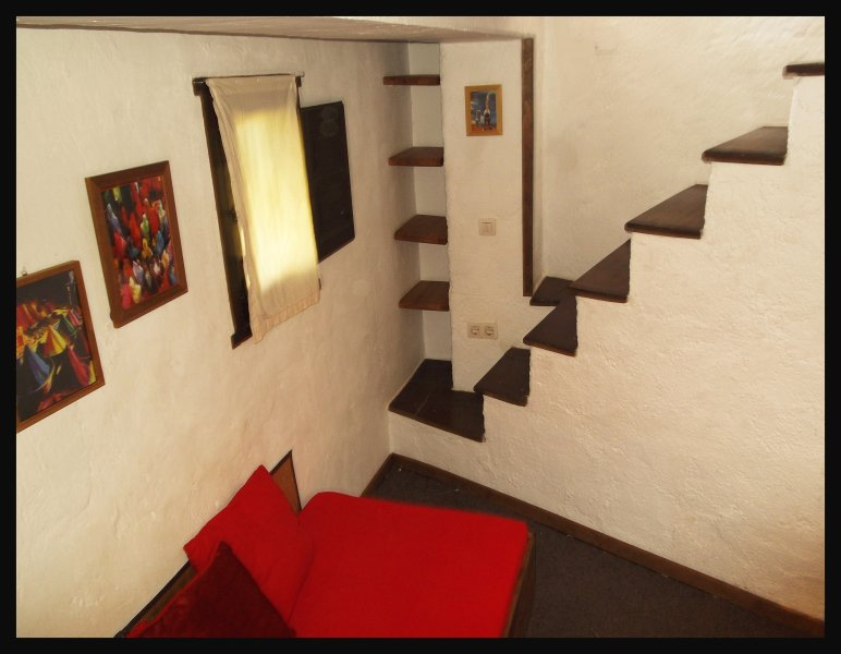 Hall and staircase to the bedroom