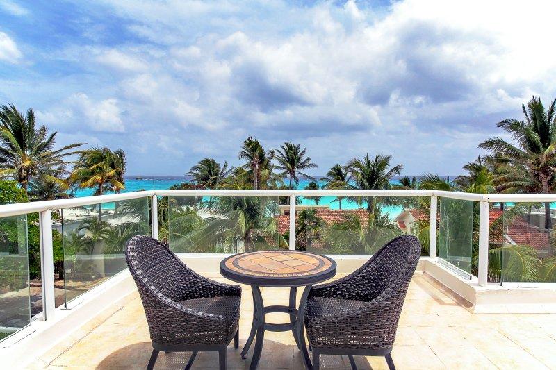 Votre propre terrasse sur le toit vue sur l'océan