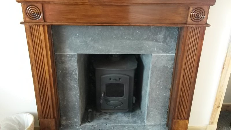 The wood burner in the lounge for you to use on chillier nights if you wish