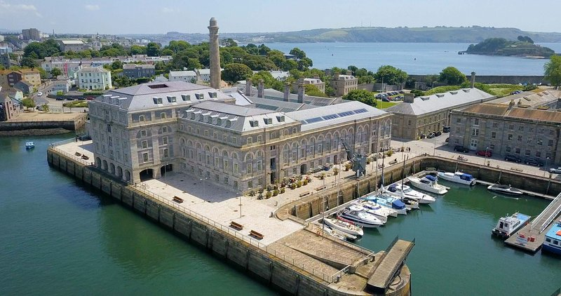 6 Mills Bakery Drakes Wharf Royal William Yard - 6 Mills Bakery one bed sea view, holiday rental in Plymouth