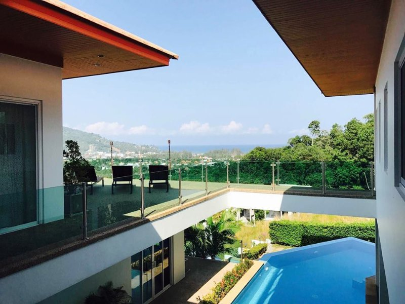Luxury villa on Phuket with Sea View, holiday rental in Kamala