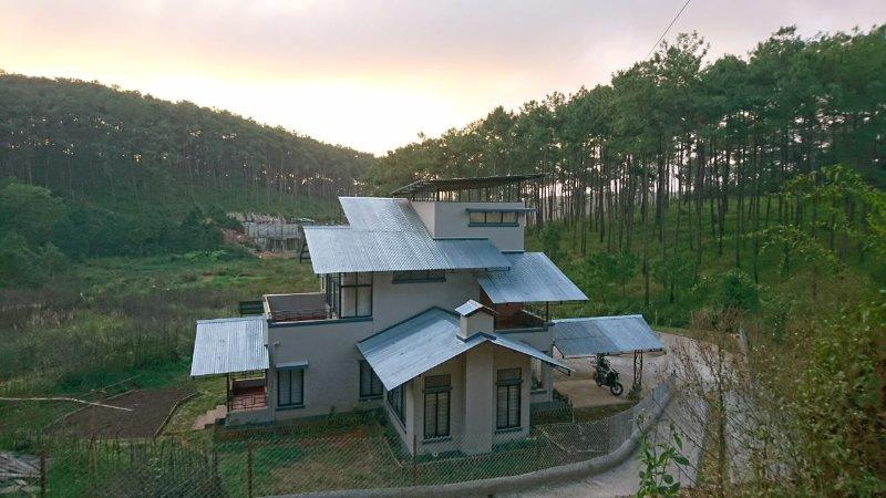 Sha Ri loum - Vista desde la carretera