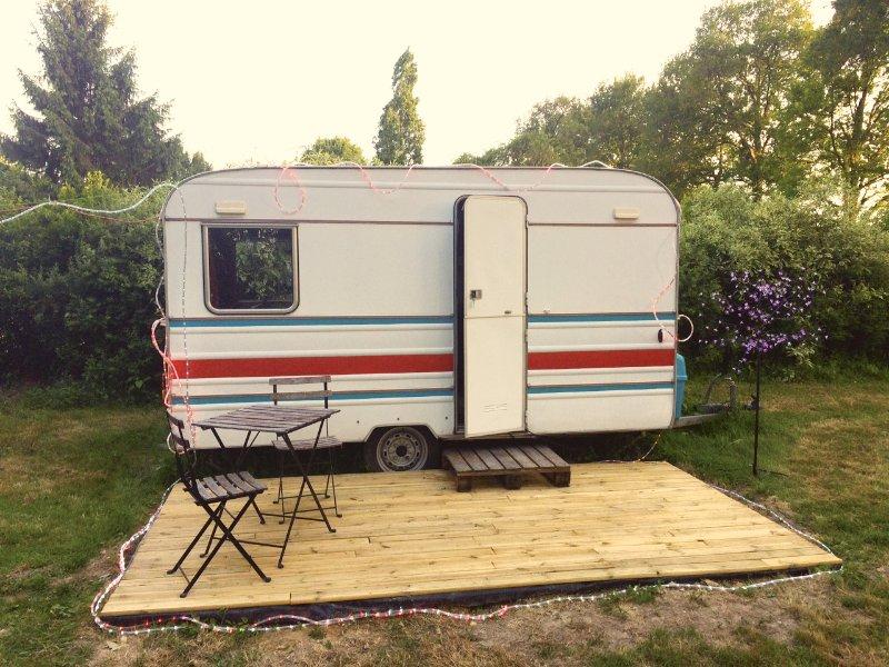 Caravane Cosy, location de vacances à Campbon