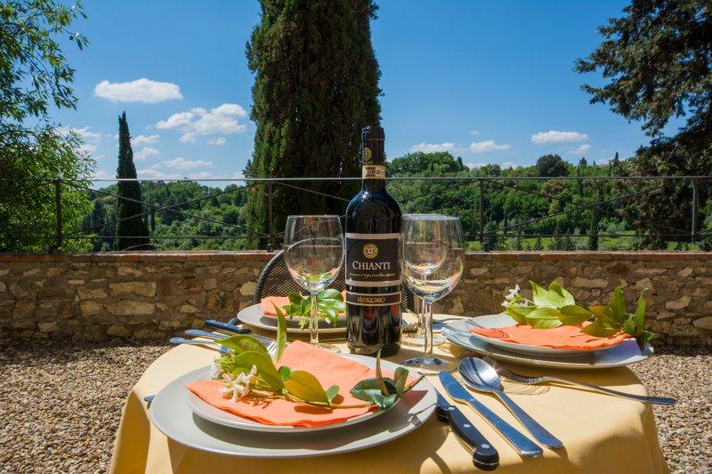 Agriturismo Borgo Bottaia T4, location de vacances à Bagno a Ripoli