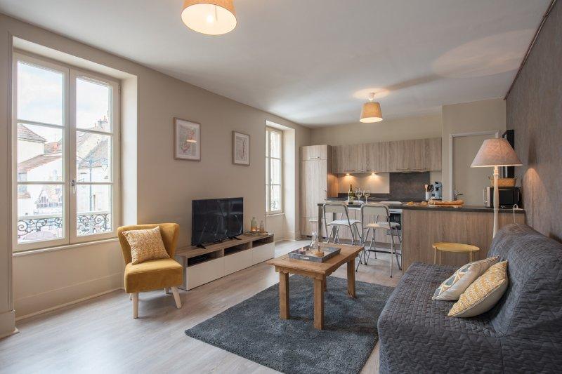 Marion Appartement duplex Coeur de Beaune, vacation rental in Levernois