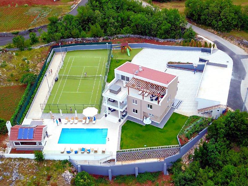 Villa Seven Lakes, location de vacances à Makarska