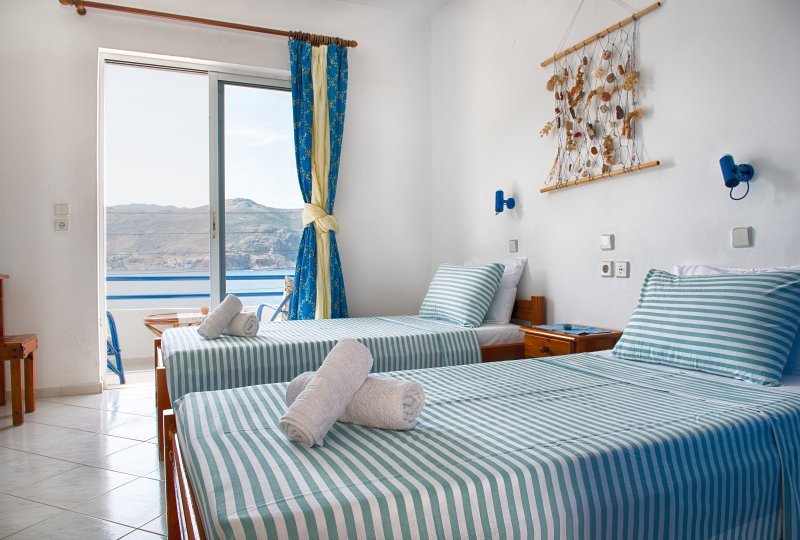 Antoniadi Marina Rooms Bed & Breakfast, casa vacanza a Tilos