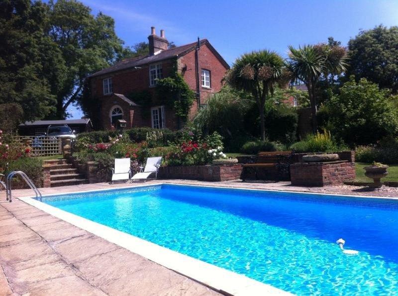 views of heated pool