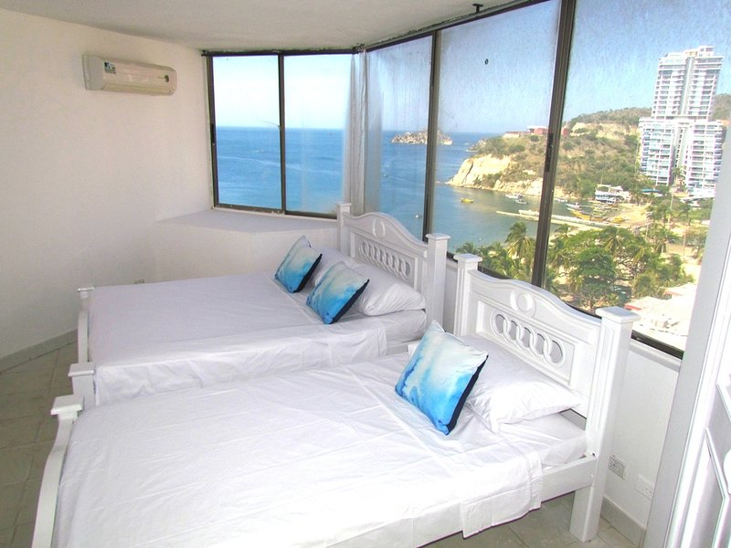 Apartamentos SOHO Basic - Vista al Mar SMR257A, holiday rental in Santa Marta Municipality