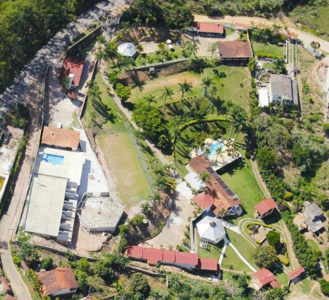 Luftbild des Inn