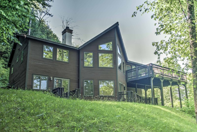 Your next getaway awaits at this Hawk Mountain Resort vacation rental home!