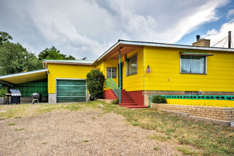 Experience Springer, New Mexico from this 4-bedroom, 2-bathroom vacation rental house!