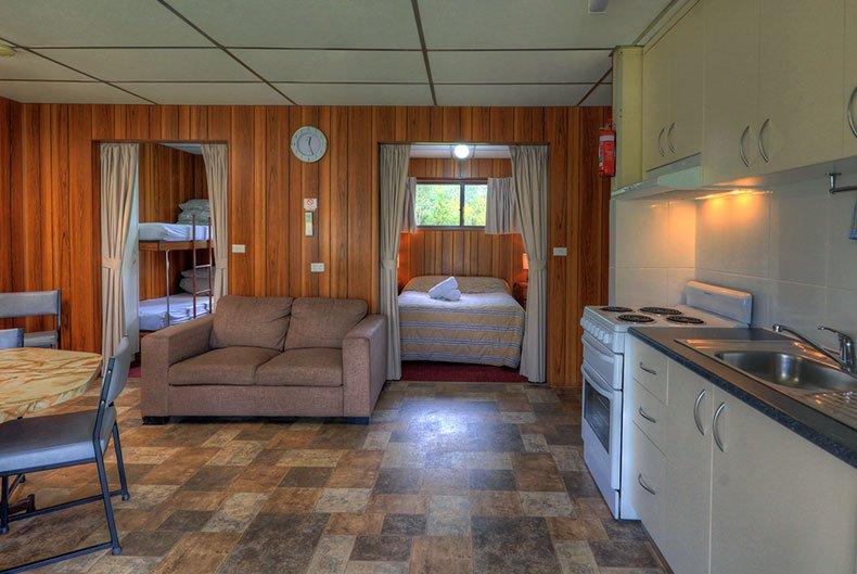 Living area - full kitchen facilities