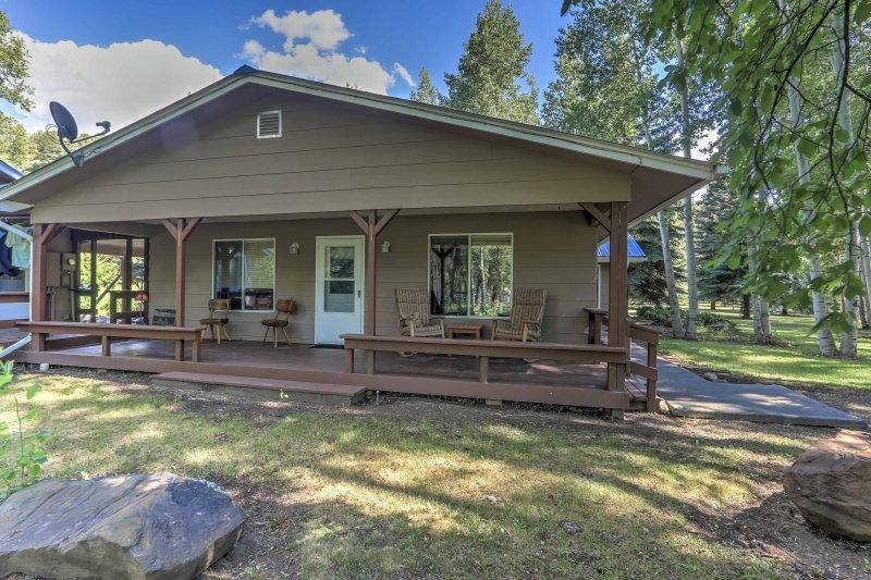 Experimentar lo mejor de Colorado de esta acogedora casa de vacaciones!