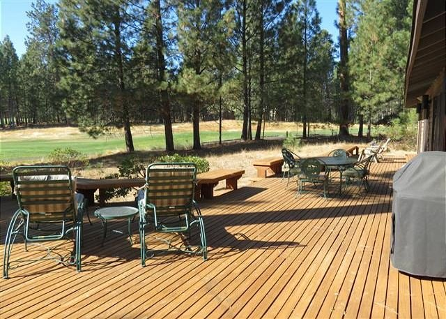 Large decks for an amazing outdoor living area.