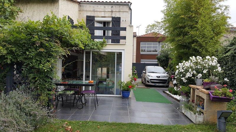 Échoppe Bordelaise bien située et calme, casa vacanza a Gironde