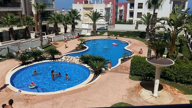 Guardamar is an exellent choice. Sea is 4 minutes by walk, good restaurantes and friendly people.