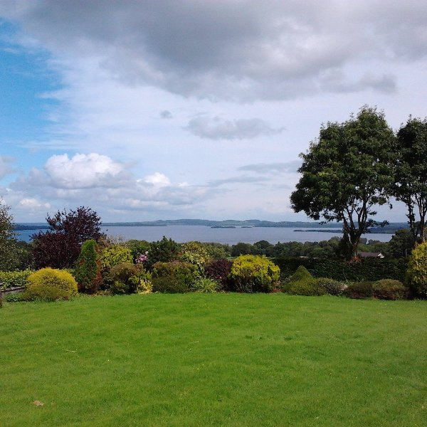 Beautiful views of the river Shannon and Lough Derg