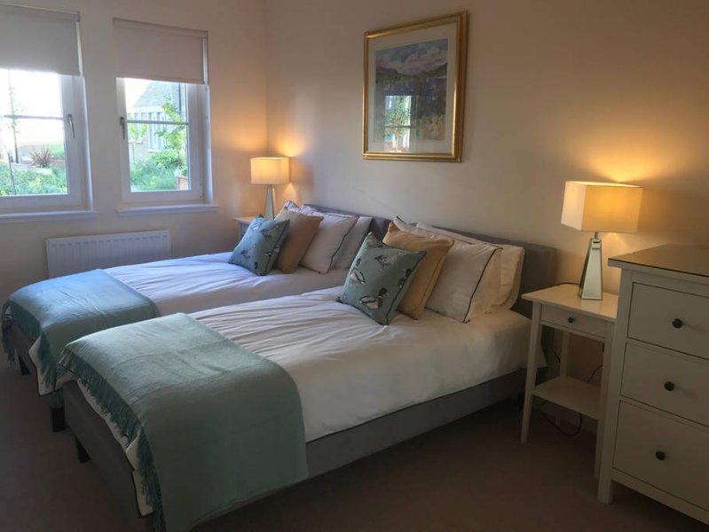 La habitación doble con dos camas individuales