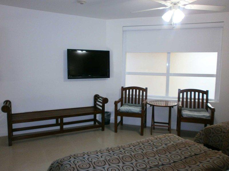 Flatscreen tv in second bedroom